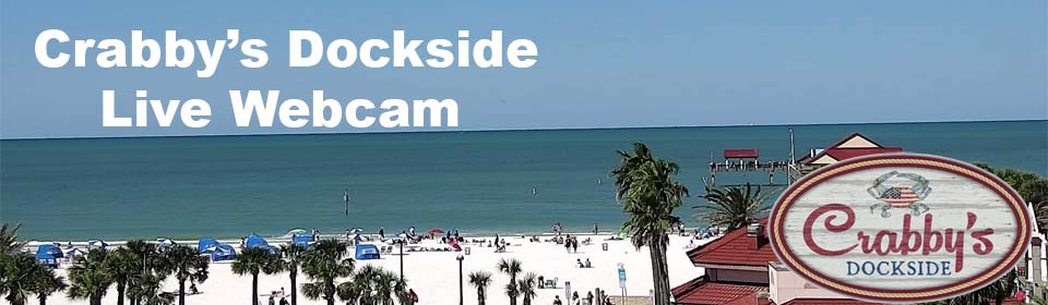 Live Clearwater Beach Video Stream That You Control